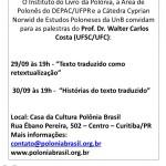 Palestras Prof Walter Costa