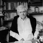 (Zbigniew Herbert , Dom pracy tworczej ZLP, 1972, fot. Erazm Ciołek / Forum)