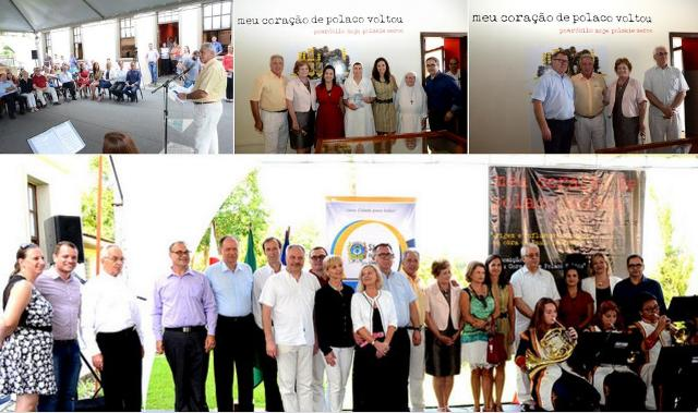 """(Abertura da exposição """"Meu coração de polaco voltou"""" na Colônia Murici em São José dos Pinhais, PR.   Fotos: Silvio Ramos / PMSJP)"""