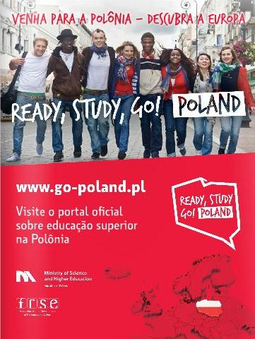 (Polska w katalogu targów edukacyjnych Salão do Estudante 2016)