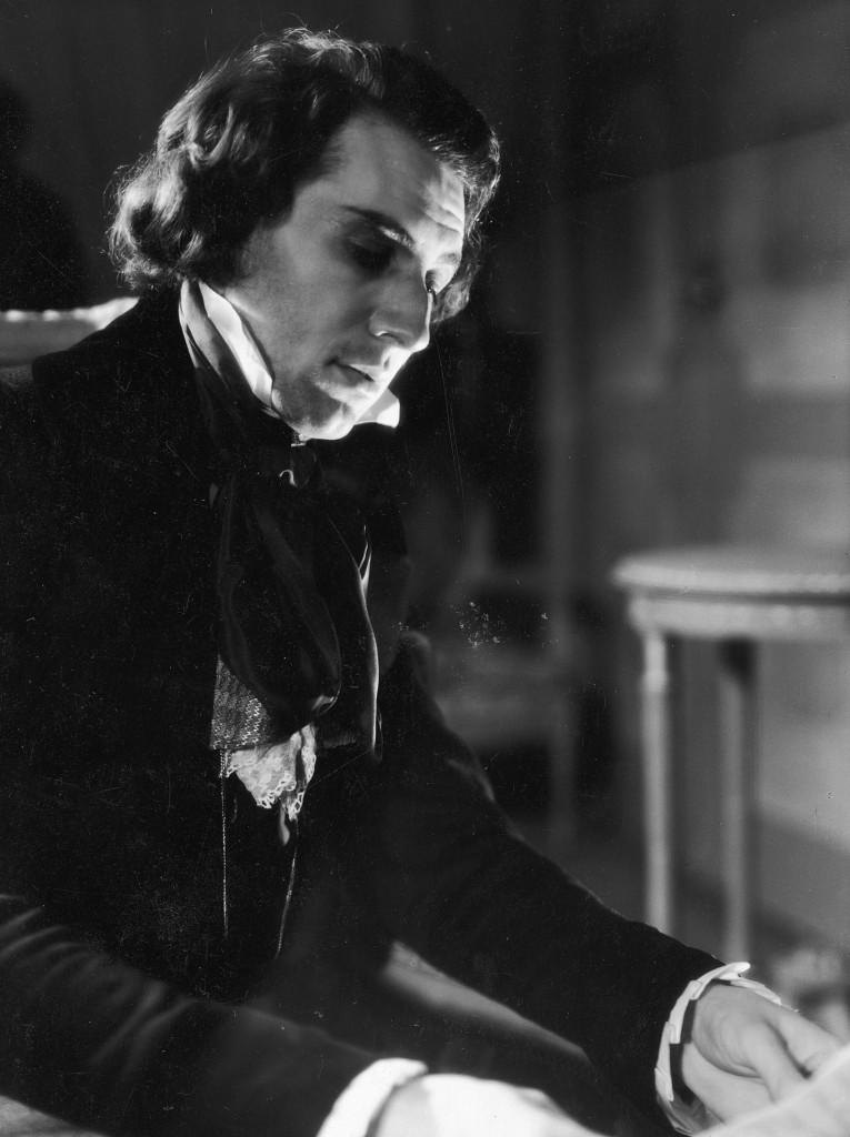 (Zbigniew Ziembiński, no papel de Chopan em teatro de Varsóvia, 1937 - Foto enviada pela autora)