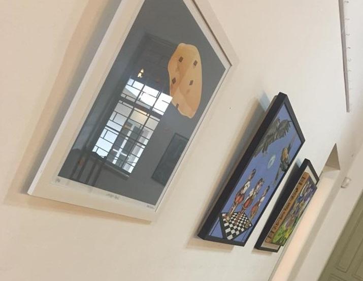 (Detalhes da Exposição - Foto: Beatriz Kulinitz)