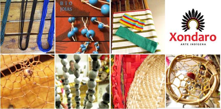 (Peças do artesanato indígena - Fotos: Xondaro)