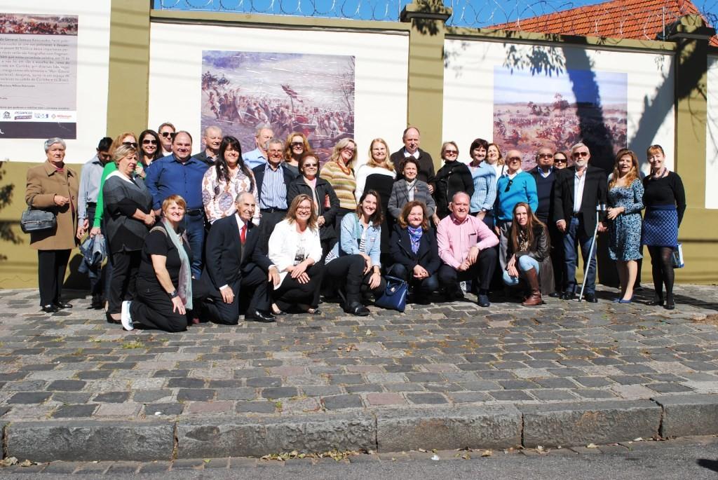 "(Inauguração do ""Mur: Galeria Polsko-Brazylijska"" / Foto: Acervo STK)"