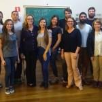 Alunos e professores do curso de verão do idioma polonês