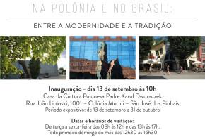 """(Português) Exposição """"Cidades"""" na Colônia Murici em São José dos Pinhais."""