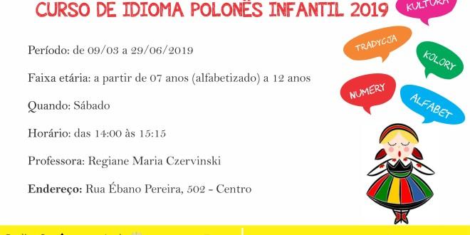 (Português) Nova turma infantil de idioma polonês: matrículas abertas!