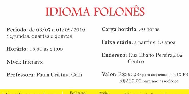 (Português) Curso intensivo de inverno – Idioma Polonês