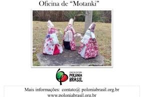 Inscrições abertas para a Oficina de Motanki