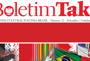 Boletim TAK!: décimo segundo número foi publicado pela Casa da Cultura Polônia Brasil.