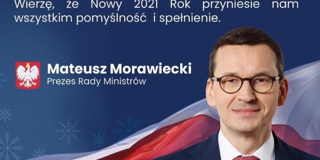 (Português) Cartão de Natal Sr. Mateusz Morawiecki