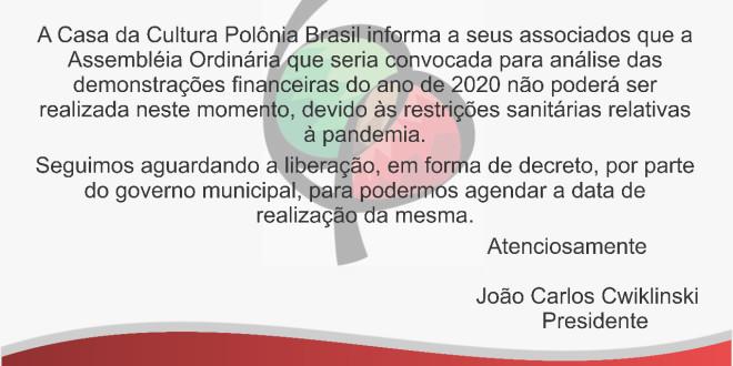 (Português) Comunicado