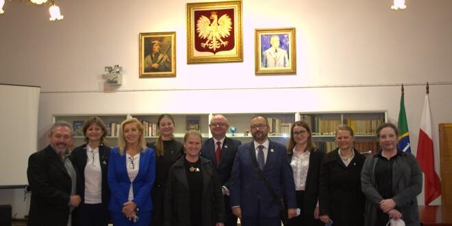 CCPB recebe visita de representantes do Governo Polonês